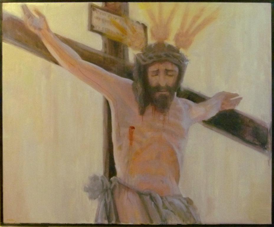 Cristo, oleo/lienzo ,100x81.