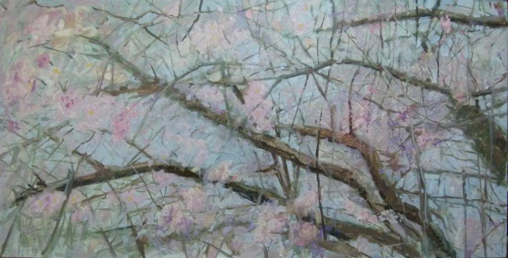 almendro-pintura